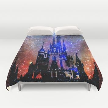 Fantasy Disney. Nebulae Duvet Cover by Guido Montañés