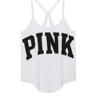 Super Soft Strappy Y-back Tank - PINK - Victoria's Secret