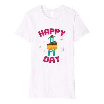 Funny Pie Style Pi Day 2018 T-shirt for Math Geeks Majors