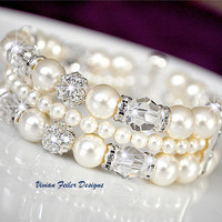 Wedding Jewelry - Vivian Feiler Designs | Wedding Jewelry | Bridal Jewelry | Bridesmaid Gift |