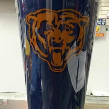 NFL Licensed Chicago Bears 20oz Insulated Acrylic Tumbler
