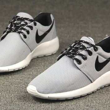 Gray Trendy Fashion Casual Sports Shoes
