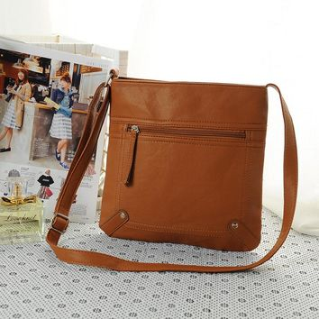 Fashion Leather Satchel Cross Body Shoulder Messenger Bag Handbag