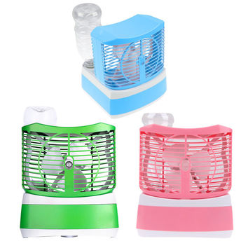 Summer Icy Hot new creative snowman humidification fan
