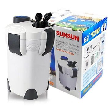18W 1000L/h SUNSUN HW-302 3-Stage External Aquarium Canister Filter Fish Tank Outside Filter 264GPH