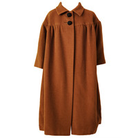 Traina-Norell Barrel Coat
