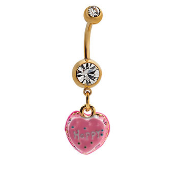 Accessory Stainless Steel Sexy Belly Ring [6768828999]