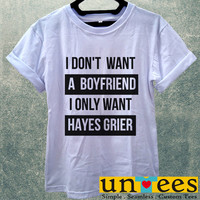 Hayes Grier Magcon Women T Shirt