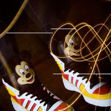 Jeremy Scott x adidas Originals x Disney JS Mickey Men Women Sneaker