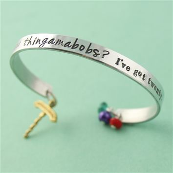 Little Mermaid 'Thingamabobs' Cuff Bracelet - Spiffing Jewelry