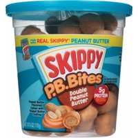 Skippy P.B. Bites Double Peanut Butter Snacks, 6 oz - Walmart.com