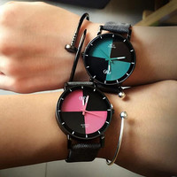 Unique Classic Light Design Analog Quartz Wrist Watch