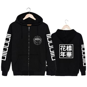 2017 New Arrival Hoodies Sweatshirts For Women Fashion BTS KPOP Sportwear Streetwear Harajuku Sailor Moon Hooded Long Sleeve
