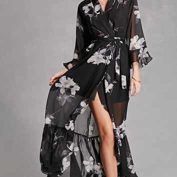 Selfie Leslie Floral Maxi Dress