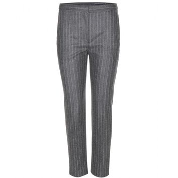 alexander mcqueen - cropped wool trousers