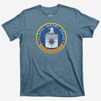 CIA Cocaine Import Agency Men's Shirts