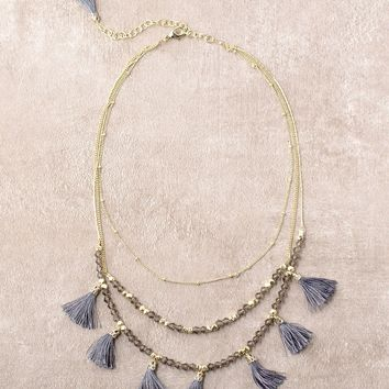 Fair Trade Tassel Necklace