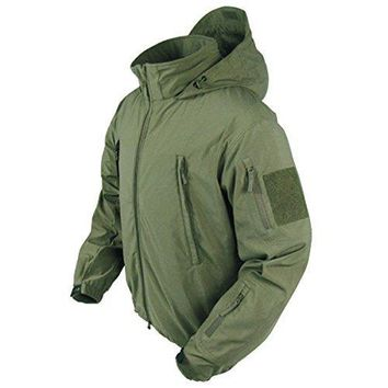 Summit Zero Lightweight Soft Shell Jacket Color- OD Green (XX-Large)