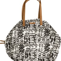 BILLABONG MORRO SOLSTICE CANVAS BEACH TOTE