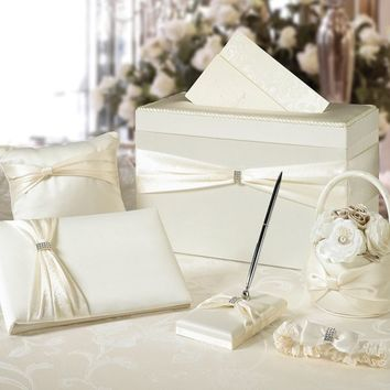 Ivory Wedding in a Box 6pc | Party City