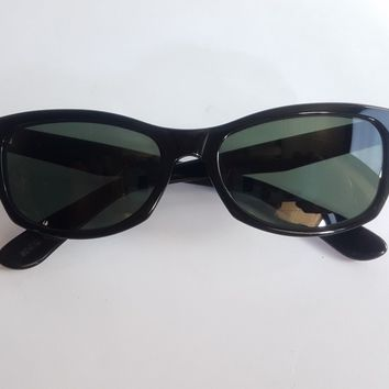 Ray Ban B&L Vintage Sunglasses W1436 Innerview in Black Made In USA Very Rare