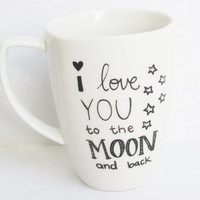 I Love You to the Moon -  Coffee Mug