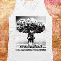 The Smile Of Explosion Shirt Nuclear Explosion Shirts Nuclear Tank Top Women Shirts Women Tank Top Unisex Shirts Women Sleeveless Shirts
