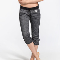 Hurley Nike Dri-Fit Womens Fleece Crop Pants Black  In Sizes