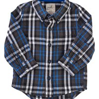 Peek 'Logan' Plaid Woven Shirt (Baby Boys) | Nordstrom
