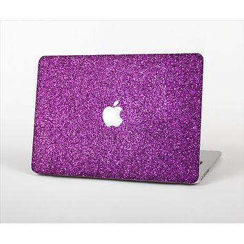 The Purple Glitter Ultra Metallic Skin Set for the Apple MacBook Pro 15""