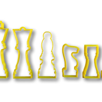 Chess Cookie Cutter Set