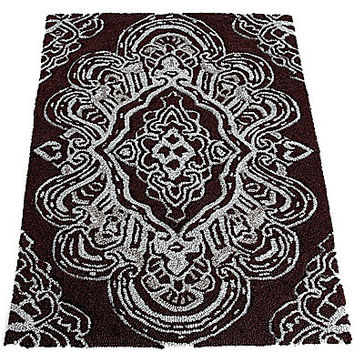 Croscill Royalton Bath Rug - Chocolate