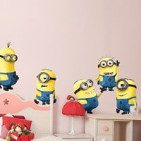 Removable Vinyl Despicable Me Minion Wall Decal Kids Wall Despicable Me Wall Sticker - Minion by CustomWallDecal