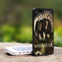 SUPERNATURAL Television Series - For iPhone 5 Black Case Cover