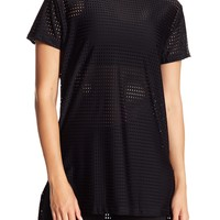 ONZIE | Short Sleeve Perforated Tee | Nordstrom Rack