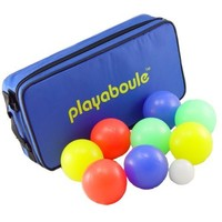 Playaboule Lighted Glo Boules - Bocce Ball / Petanque Set