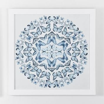 Butterfly Mandala Framed Art 2