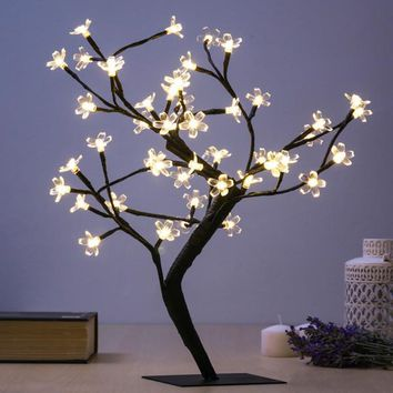 Decorative Tree with Flowers (48 LED)