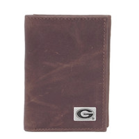 Georgia Bulldogs NCAA Tri-Fold Wallet