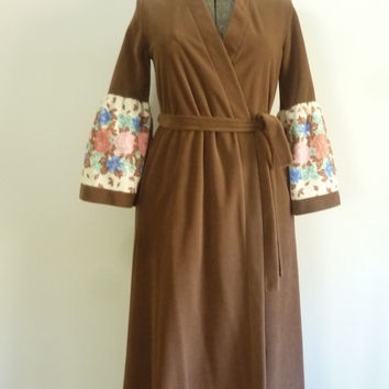 Wrap Winter Robe Vanity Fair Vintage 1970s by rileybella123