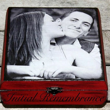 Engagement, best friend, wedding Keepsake Custom Memory Box, Treasure Trove, Jewlery, Cigar, Photo, Recipe, Card Box, Great Gift, Wooden