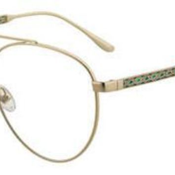 Jimmy Choo - Jc 216 Gold Green Eyeglasses / Demo Lenses