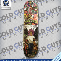 Backtrack Skate Deck | Cold Cuts Merch