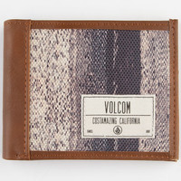 Volcom Hybrid Wallet - Boardshorts And Walkshorts In One Brown Combo One Size For Men 23341844901