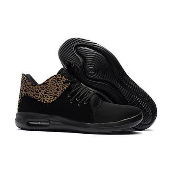 Nike Air Jordan First Class Men Running Shoes Black Gold