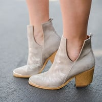 Wandering West Embroidered Bootie