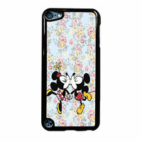 Mickey Kiss Minnie Disney Flowers iPod Touch 5th Generation Case