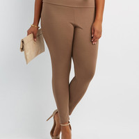 Seamless Ankle Leggings - Plus Size