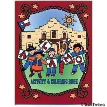 Texas Products Alamo Coloring Book