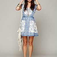 Free People  FP New Romantics Song Bird Pinafore Dress at Free People Clothing Boutique
